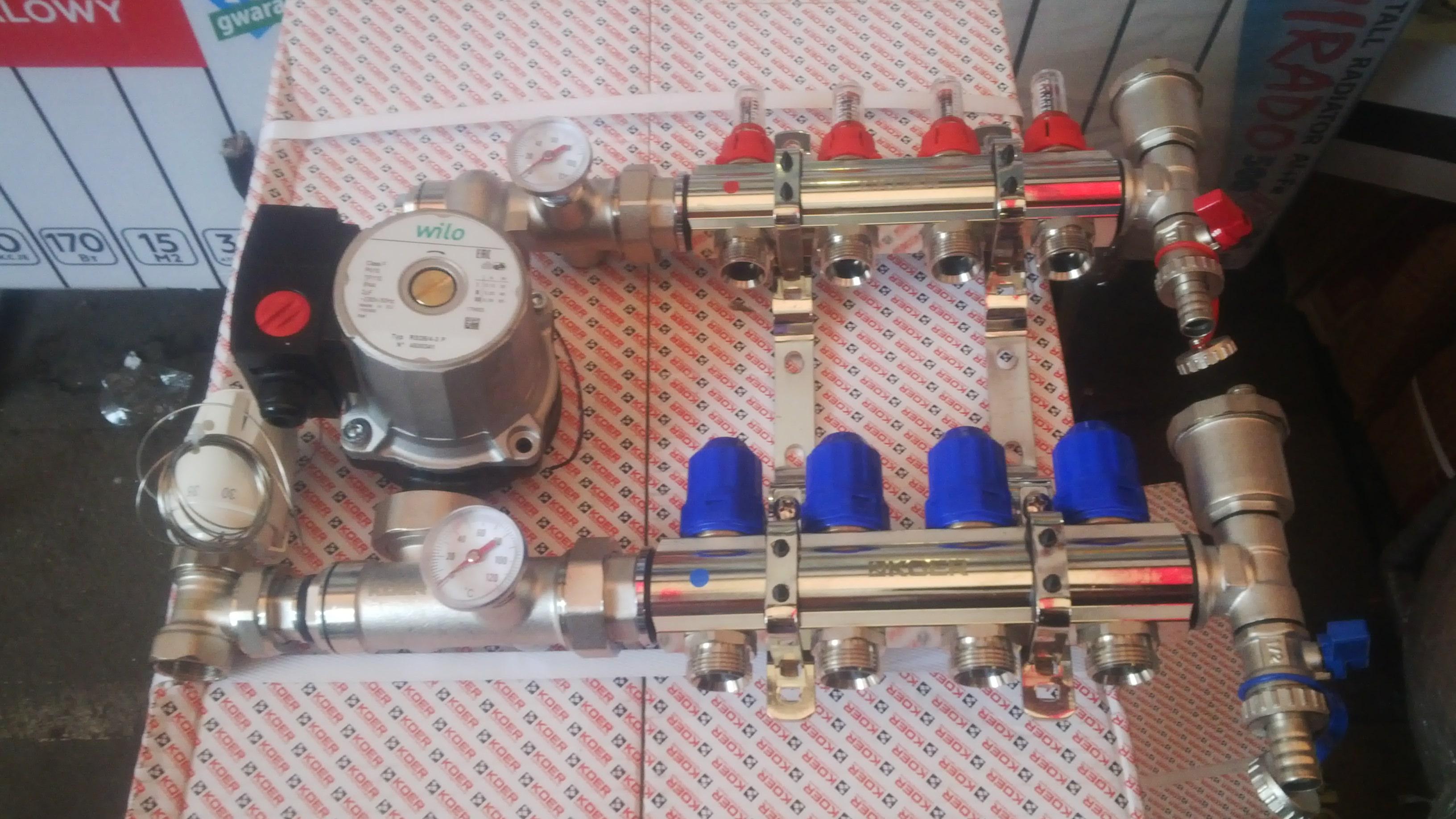 Наружный трубопровод из сшитых полиэтиленовых труб 64